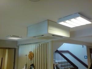 Ferdig installert luft til luft-anlegg på Sørlandet
