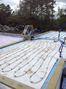 Legger vannbåren gulvvarme i nybygg på Sørlandet